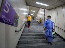 Coreia do Sul intensifica medidas contra covid-19 para conter alta dos focos de contágios
