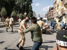 Capital da Índia vive onda de protestos antes da chegada de Trump