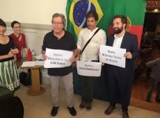 'Não há representatividade do povo brasileiro no governo Temer', diz Gregório Duvivier em Lisboa