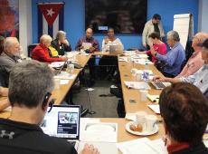 Red de solidaridad en Estados Unidos.: compromiso permanente con Cuba