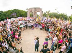 Porto Alegre: Centenas vão às ruas por justiça para Mari Ferrer e fim da cultura do estupro