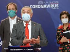 Ministro da Saúde do Chile é substituído após contagem controversa de número de vítimas da covid-19