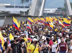 """Colômbia: """"Ditadura das balas"""" de Iván Duque não tem hesitado em instaurar uma repressão contra protestos populares"""