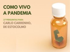 Como vivo a pandemia: Carlo Carrenho, Suécia
