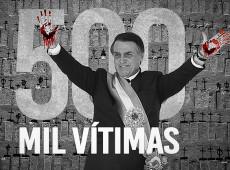 Comportamento macabro do personagem mais importante do país levou Brasil a 500 mil mortes por Covid